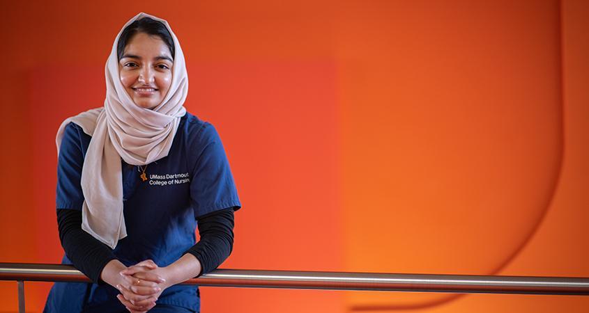 Amana Khatib, UMassD nursing student