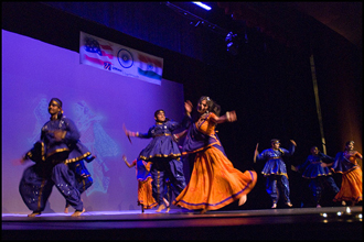 Image of Dancing from Diwali 2008