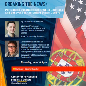 Breaking the News: Portuguese Lusotropicalist Public Relations and Lobbying in the United States, 1961-4