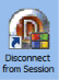 This is the shortcut icon to disconnect an active VDI session.