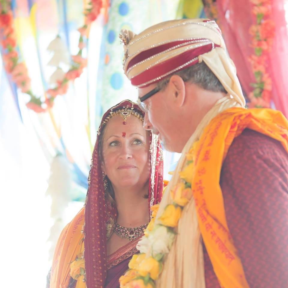 Maureen in India