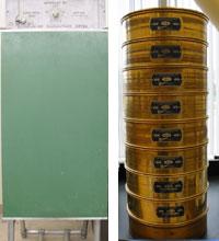 Rainhart Company Laboratory Sifter and U.S.A. Standard Testing Sieves