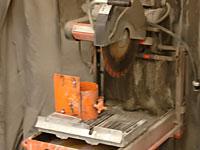 HSRC equipment Wet Core Saw