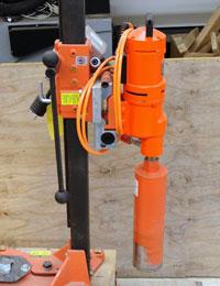 HSRC equipment core drill