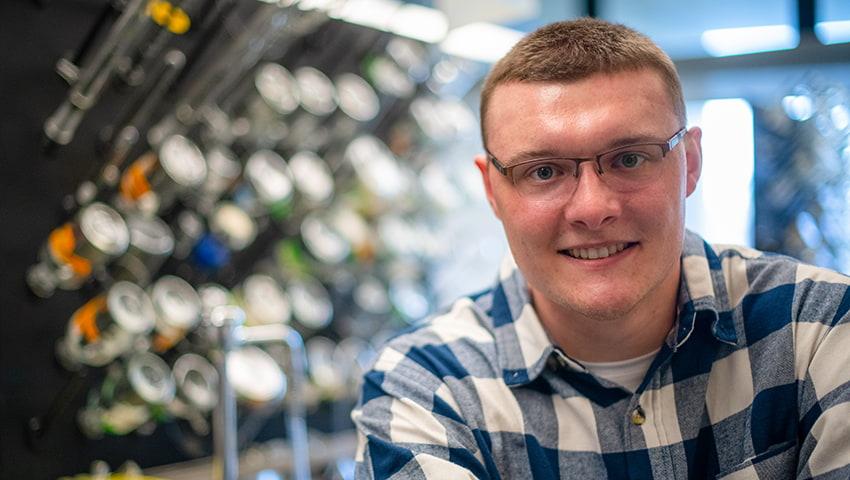 Stephen Gacioch, UMassD College of Engineering student
