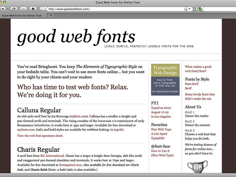 gwf homepage