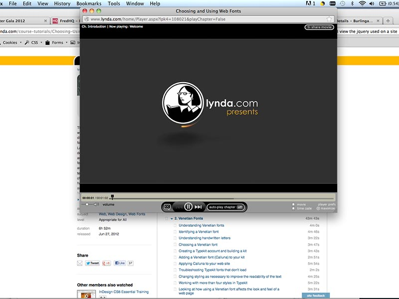 lynda.com presents