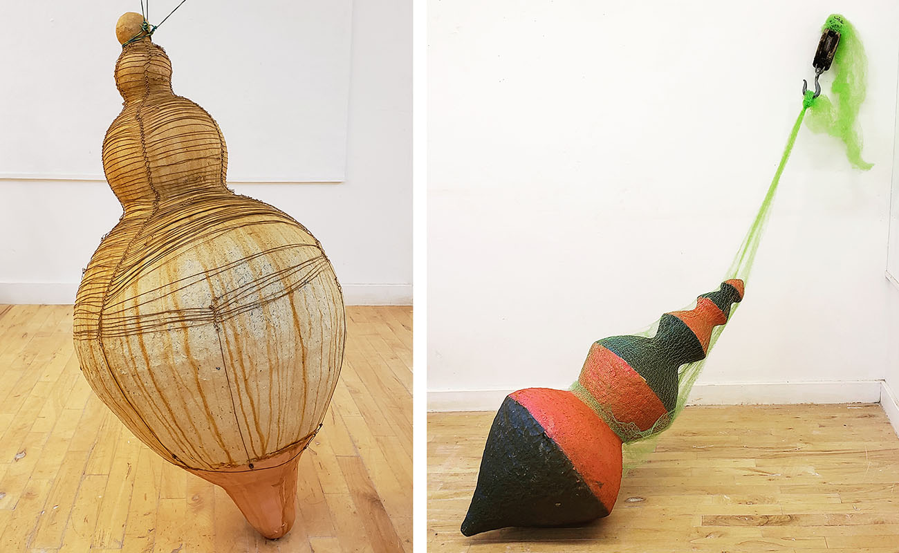 Danielle O'Malley Boston Sculptors Gallery Exhibition