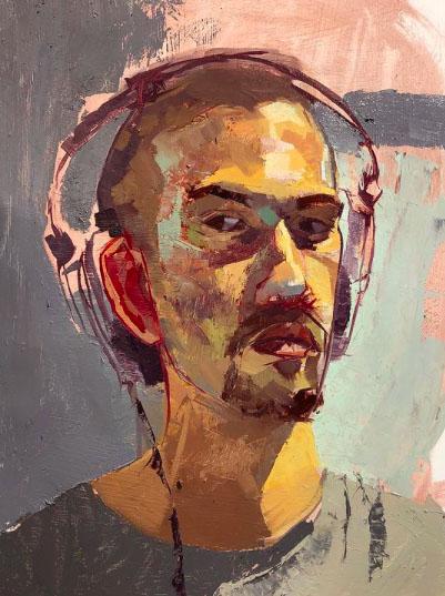 Braden Putney self portrait
