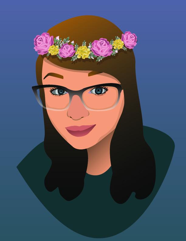 Isabella Rivera self portrait