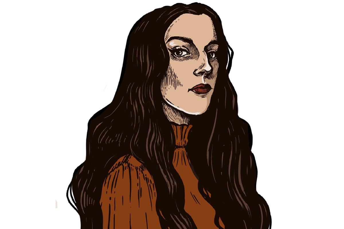 Veronica Ferreira self portrait