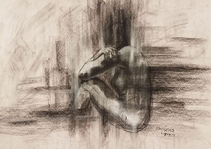 Drawing by Christina Lysko
