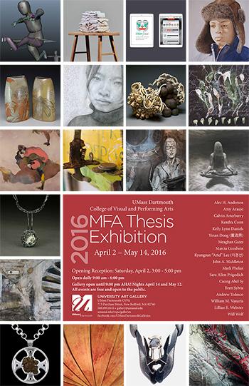 2016 MFA Thesis Exhibition