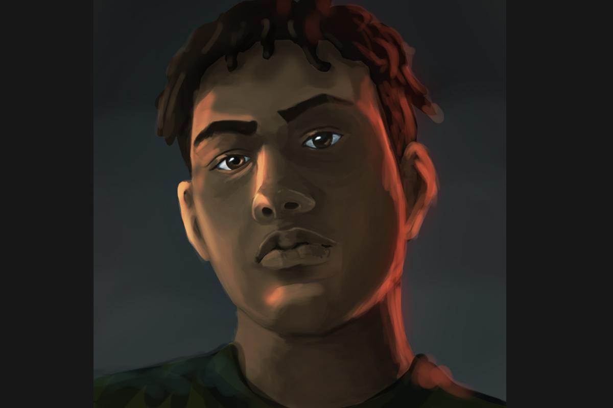 Bryan Acosta self portrait