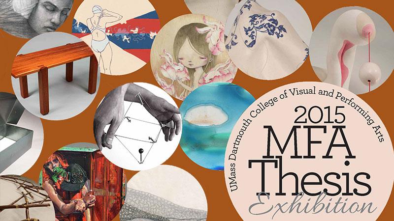 2015 MFA Thesis Exhibition Poster
