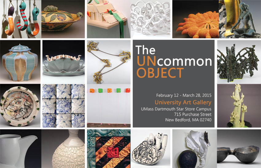 The Uncommon Object Alumni Exhibition (postcard)