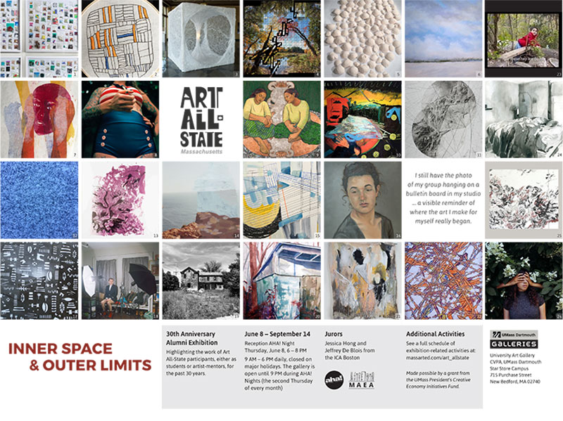 Inner Space & Outer Limits Gallery Postcard