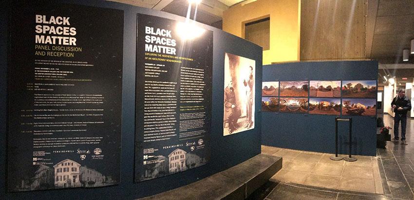 Black Spaces Matter Exhibition
