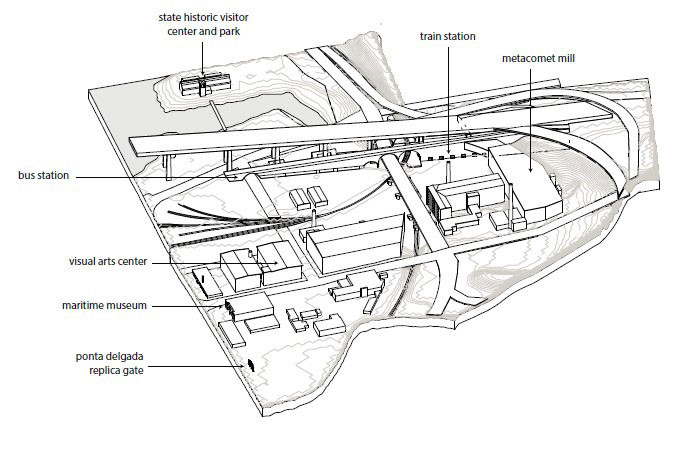 Site analysis by Northeastern M.Arch student CyrusDahmubed
