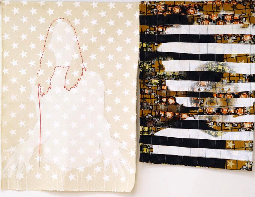 Taylor Maroney and Lauren Shepherd collaborative artwork
