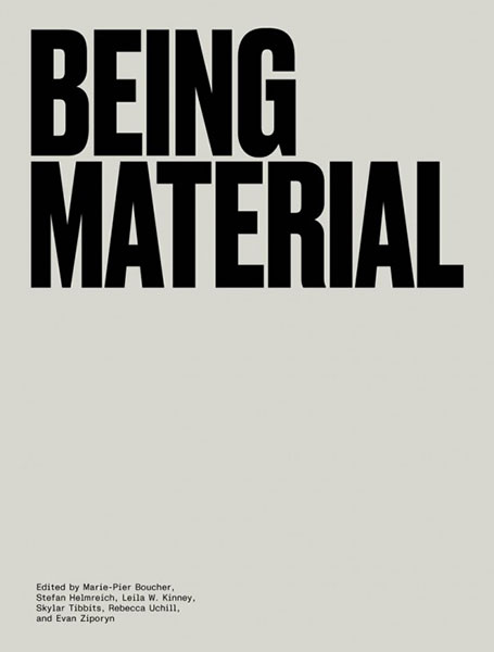 Being Material book cover