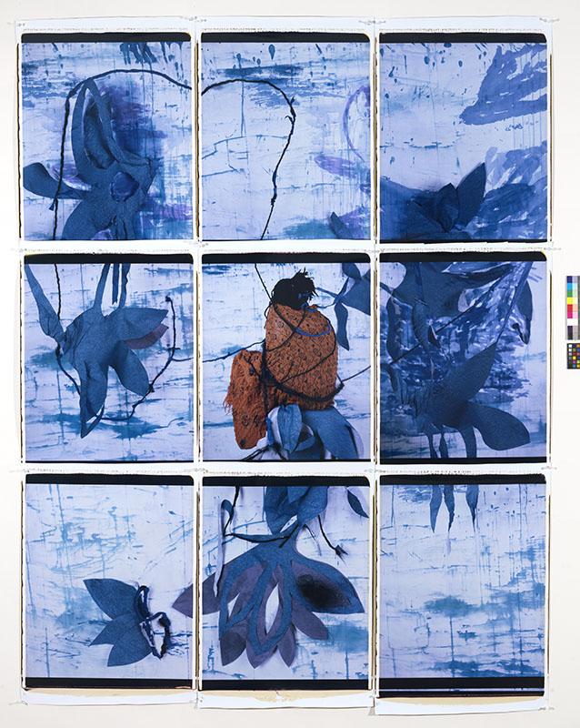 María Magdalena Campos-Pons. Blue Refuge.