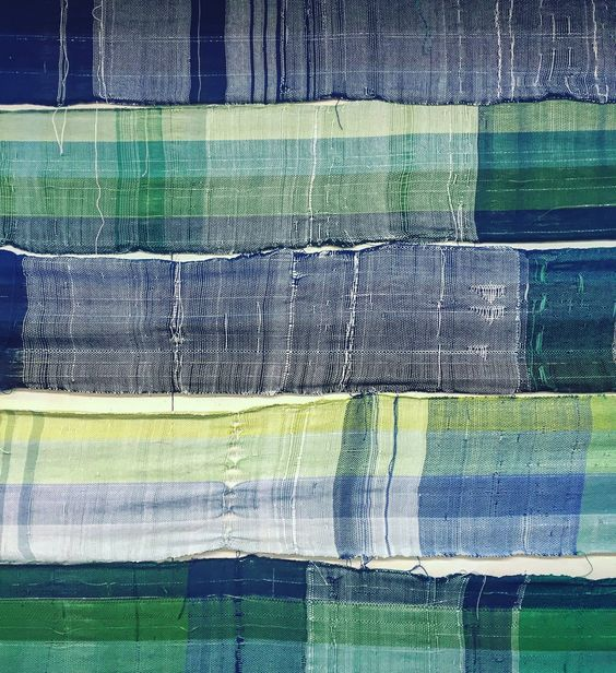 weaving yardage detail