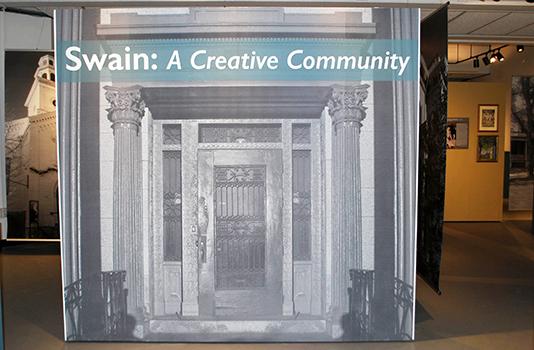 Senior Seminar Exhibition Swain