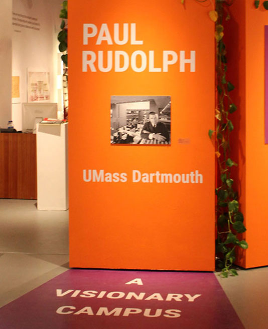 Photograph of A Visionary Campus Exhibition