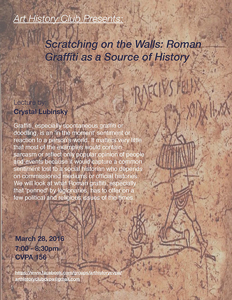 Scratching on the Walls poster