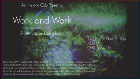 Work and Work poster