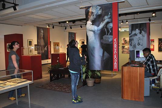 Senior Seminar Women Artists Exhibition 2015