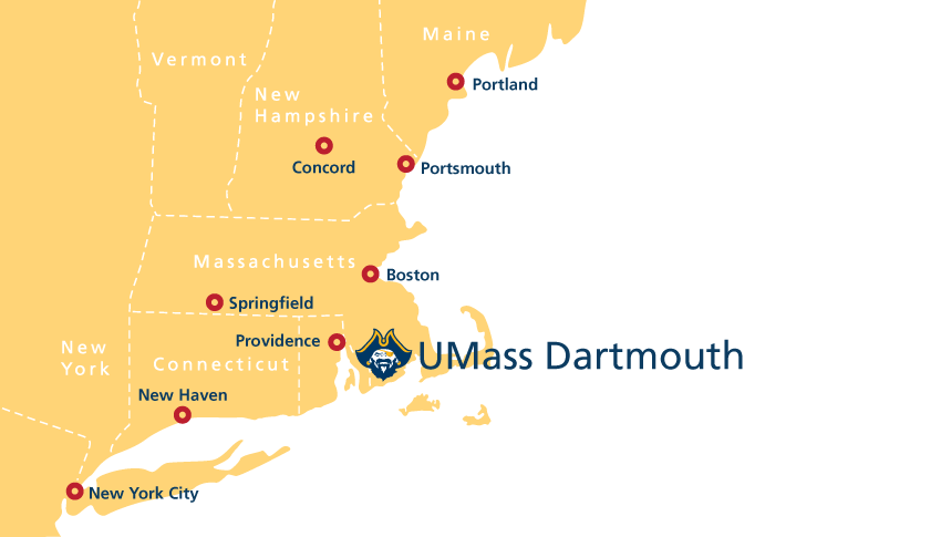 What\'s nearby? | Office of Admissions | UMass Dartmouth