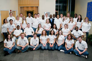 SIFE (now called Enactus) members 2010