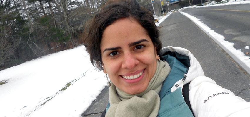 Ana Paula Krelling: first PhD graduate of SMAST & IOUSP