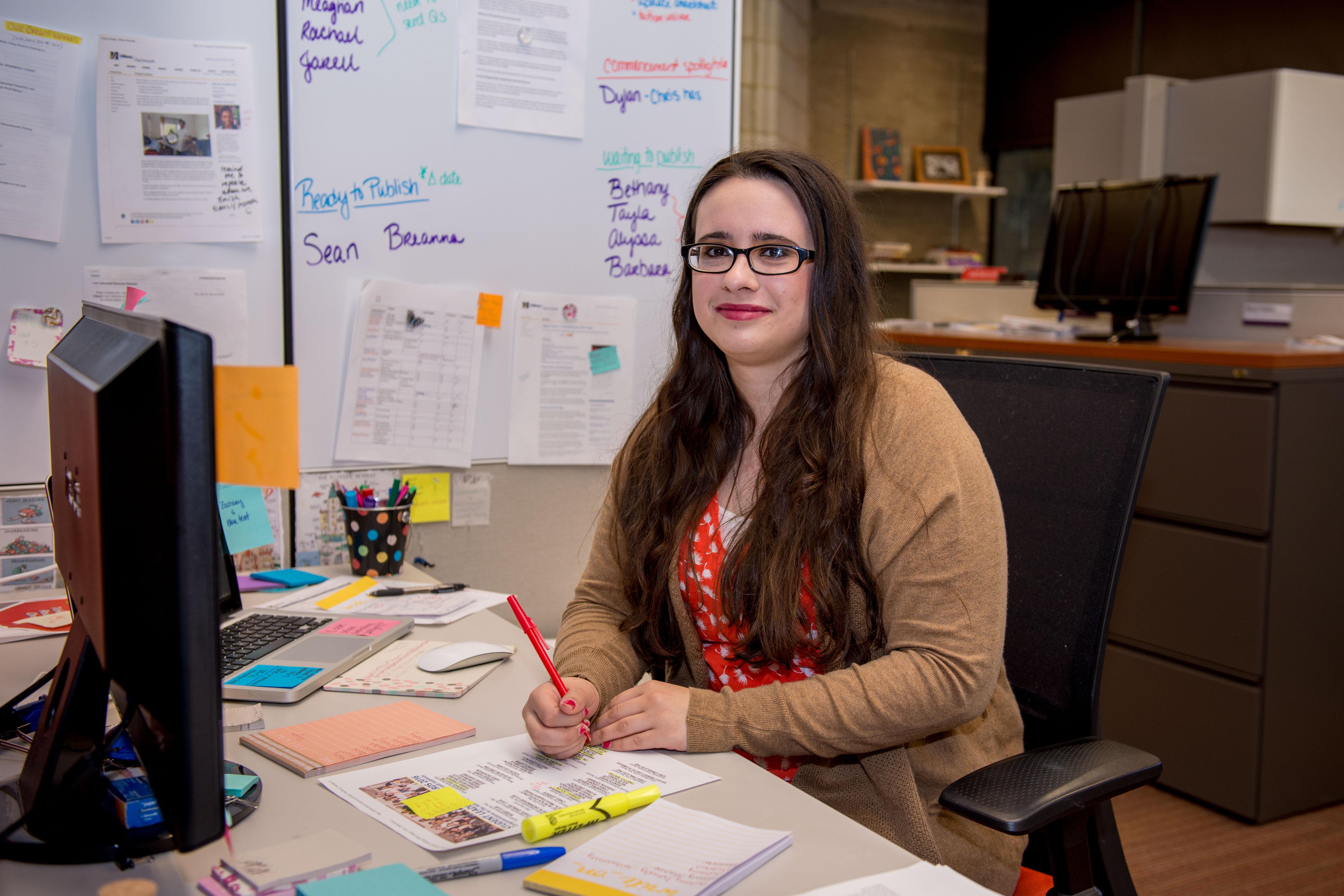 Marissa Matton at University Marketing