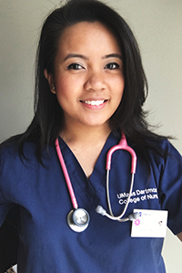 updated photo of Shereen Cruz, nursing uniform
