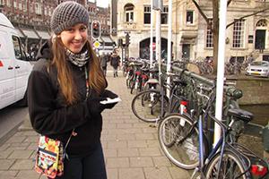 Maegan McConnell in Amsterdam