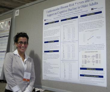 Ashley Couto at 2011 GSA Poster session