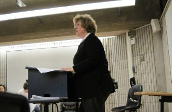 UMD Professor of Law, Justine Dunlap presenting December 2012 Healthy Aging Seminar