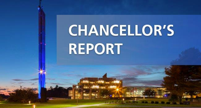 Chancellor's Report Banner