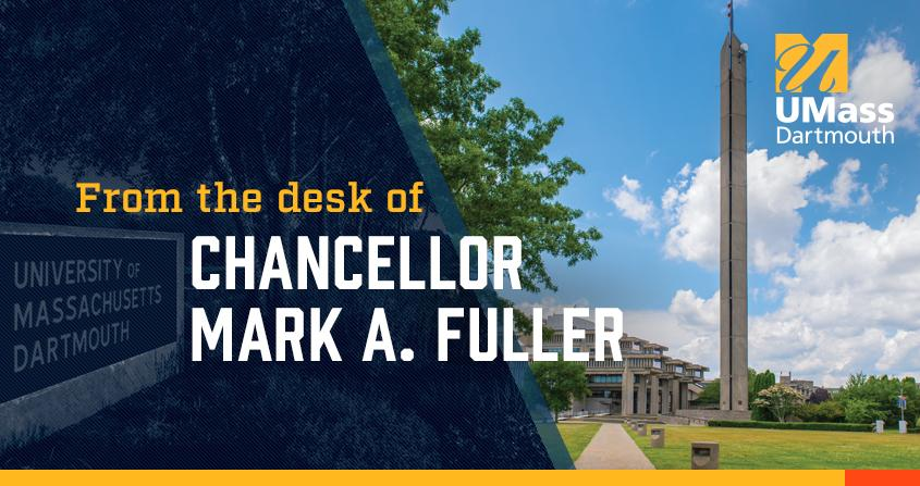 From the desk of Chancellor Mark A. Fuller