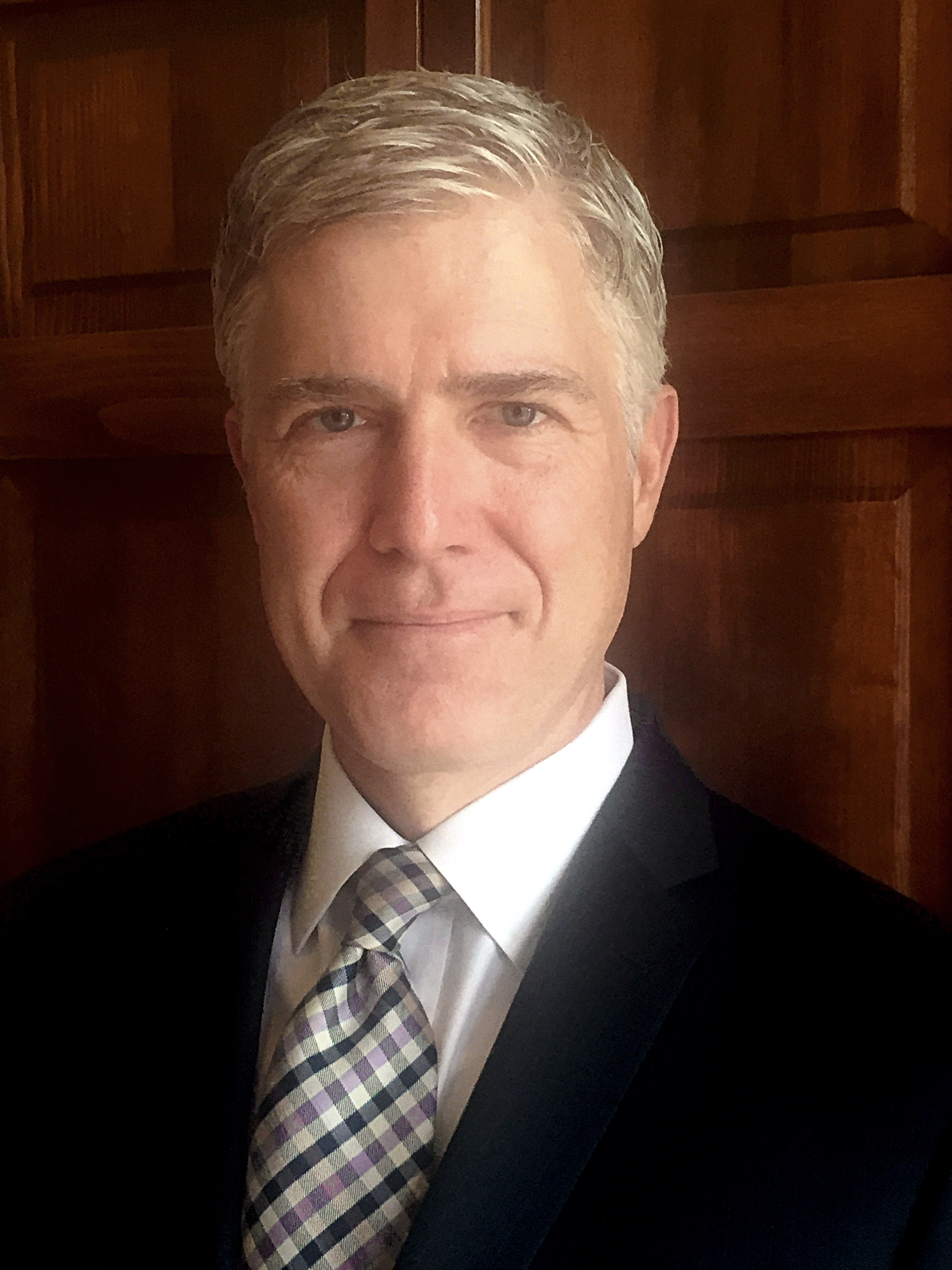 Tenth Circuit Judge Neil Gorsuch (public domain work of the U.S. Government)