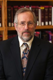 Ralph Clifford's faculty portrait.
