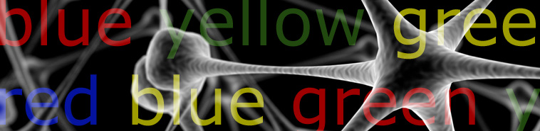 neurons and color words