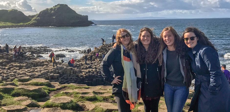 Briana Flaherty's semester abroad in Ireland